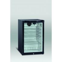 Jääkaappi Scancool DKS 142 lasiovella, 845x540x550mm, 115l