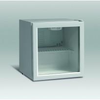 Jääkaappi lasiovella Scandomestic DKS 62, 50cm, valkoinen