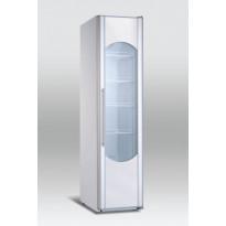 Jääkaappi Scancool KK300 lasiovella, 1850 x 440 x 718mm, 280l