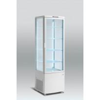Jääkaappi Scancool RTC 236, lasiovella, 1690x515x485mm, 235l