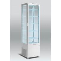 Jääkaappi Scancool RTC 286, lasiovella, 1895x515x485mm, 270l
