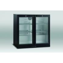 Jääkaappi Scancool SC 210 HD lasiovella, 865x900x530mm 188l