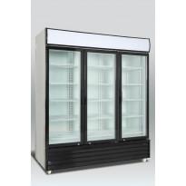 Jääkaappi Scancool SD 1501 H, lasiovella, 2063x1710x720mm, 1366l