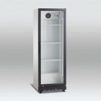 Jääkaappi lasiovella Scandomestic SD180, 59cm, musta