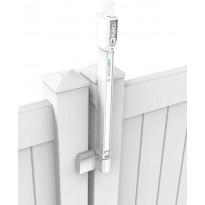 Turvalukko Scandkom D&D Päiväkoti magneettilukituksella, valkoinen