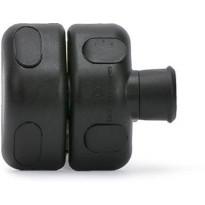 Porttisalpa Scandkom D&D magneettilukituksella, musta