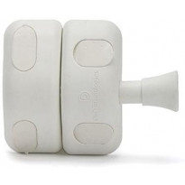 Porttisalpa Scandkom D&D magneettilukituksella, valkoinen