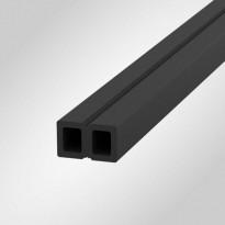 Aluslauta Scandkom WPC 30x50x4200mm, puukomposiitti, tummanharmaa