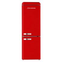 Jääkaappipakastin Schaub Lorenz DBF1906F-6805, A+, 209+86l, ferrarin punainen