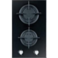 Keraaminen kaasuliesitaso Schlosser PGH32GCFFD, 30 cm, 2-liekkinen, musta