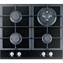 Kaasuliesitaso Schlosser PGH625FFD, 60 cm, 4-liekkinen, musta