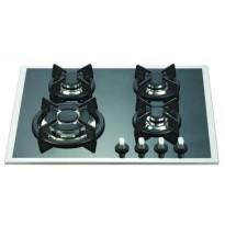 Kaasuliesitaso Schlosser PGH626FFD, 60 cm, 4-liekkinen, musta