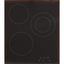 Keraaminen liesitaso Schlosser SCH3IPDZ, 45cm, kalusteisiin asennettava, musta