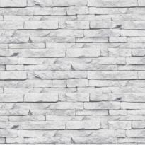 Tapetti Sandudd Vermeil 101343, 0,52x10,05m, valkoinen/harmaa, non-woven