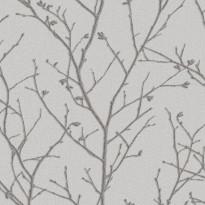 Vermeil 104754 vaaleanharmaa/hopea