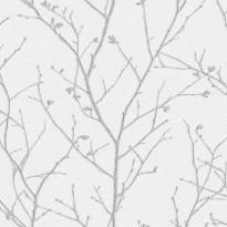 Vermeil 104755 vaaleanharmaa/hopea
