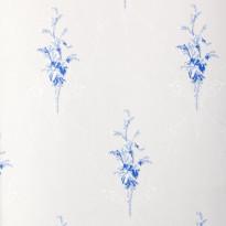 Tapetti Sandudd Isoäidin aikaan 4833-5, 0,53x10,05m, valkoinen/sininen, non-woven