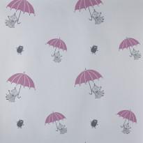 Muumi 4911-2 valkoinen/pinkki