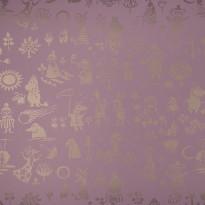 Moomin 5164-5 vaaleanpunainen/kulta
