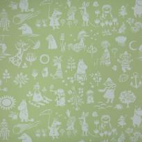 Moomin 5164-6 vihreä