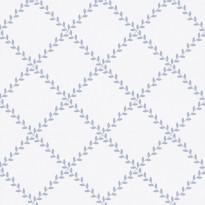 Metsäpolku 5256-3 valkoinen/sininen