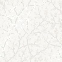 Tapetti Sandudd Rantaniitty 5311-1, 0,53x11,20 m, valkoinen/helmiäinen, non-woven