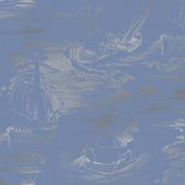 Muumi 5355-2 sininen/hopea