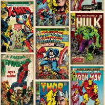 Tapetti Sandudd Marvel Action Heroes 70-238, 0.53x10.5m