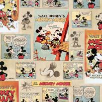 Tapetti Sandudd Mickey Vintage Episode 70-242, 0.53x10.5m
