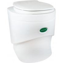 Kuivakäymälä Separett Sanitoa, valkoinen, Verkkokaupan poistotuote