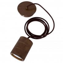 Riippuvalaisin/Sähkökaluste Calex E40 XXL LED antiikkipronssi