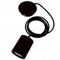 Riippuvalaisin/Sähkökaluste Calex E40 XXL LED mattamusta