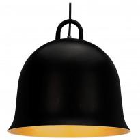 Riippuvalaisin Sessak Carmina K9912-1R, 38,5x38,5cm, alumiini, musta/kulta