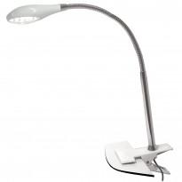 LED-pöytävalaisin Sessak Enzo II nipistimellä valkoinen