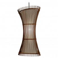 Riippuvalaisin Sessak Juzen, 50x24cm, Buri-tikut/metalli, tumma Buri/antiikin ruskea