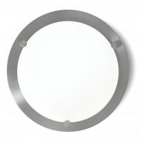 Katto-/seinäplafondi Sessak Largo Ø 16,5x6 cm metalli satiini
