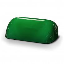 Pankkiirivalaisimen lasi Sessak 8x22,5x13,5 cm vihreä