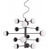 Riippuvalaisin By Rydéns Supreme, Øn.75cm, mattamusta/valkoinen