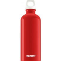 Juomapullo SIGG 0,6 L, Fabulous Red, alumiini