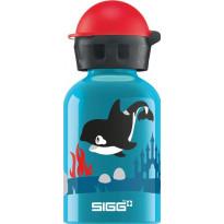 Lasten juomapullo SIGG 0,3 L, Orca Family
