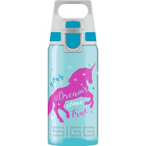 Lasten juomapullo SIGG 0,5 L, VIVA ONE Unicorn
