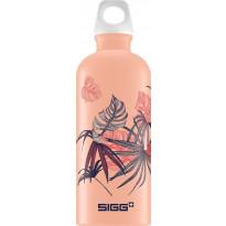Juomapullo SIGG 0,6 L, Florid Shy Pink Touch, alumiini