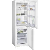 Jääkaappipakastin Siemens KG36NNW30, 215/87l, 186x60cm, valkoinen