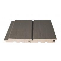Ulkoverhouspaneeli Siparila Topcoat®-V ruskea 20x133 piilokiinnitettävä