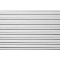 Sisustuspaneeli Siparila Vire 15x90x2700mm, valkoinen