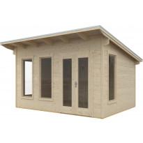 Lomamaja Ostende 3, 12 m², 3000x4000mm, seinävahvuus 28mm