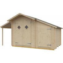 Puutarhavaja Skan Holz Multi 19, vahvuus 19mm, 190x190cm (7,79m²)