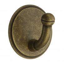 Koukku Beslagsboden 1120, tarrakiinnitys, antiikkimessinki