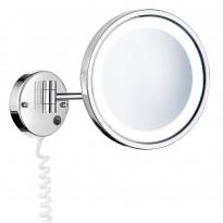 LED-meikkipeili 5-kertainen suurennus