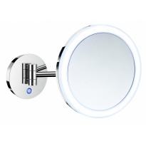 LED-meikkipeili Smedbo, 5-kertainen suurennus